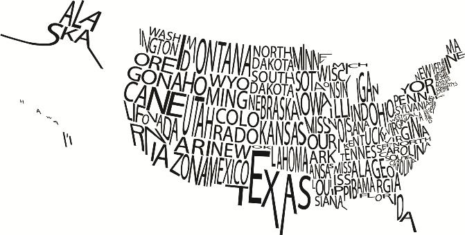 Hărți tipografice